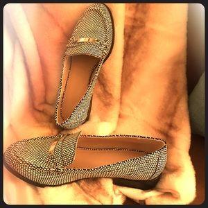VS by Victoria's Secret snakeskin loafers